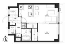 収納スペースが多いのでシンプル居住空間が作れそう(外観)