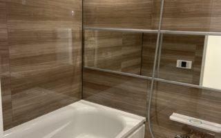 高級感のある広めのお風呂でゆっくりリフレッシュ(風呂)