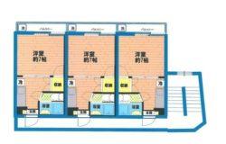 2F~5F間取り図面※一部リフォーム済み部屋あるため間取り図面と相違する部屋もあります