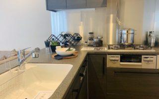 グリル付き3口ガスコンロ、食器洗い洗浄機(キッチン)